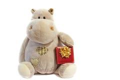 Het stuk speelgoed van Hippo Royalty-vrije Stock Foto