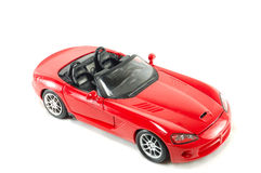 Het stuk speelgoed van kinderen de auto Royalty-vrije Stock Afbeeldingen