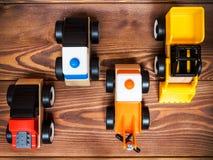 Het stuk speelgoed van kinderen op de vloer Royalty-vrije Stock Fotografie