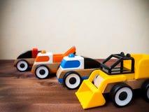 Het stuk speelgoed van kinderen op de vloer Stock Fotografie