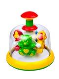 Het stuk speelgoed van kinderen vuurrad Royalty-vrije Stock Afbeeldingen