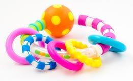 Het stuk speelgoed van ringen Stock Afbeeldingen