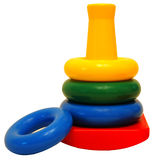 Het Stuk speelgoed van ringen Royalty-vrije Stock Foto's