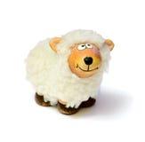 Het stuk speelgoed van schapen stock foto's