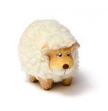 Het stuk speelgoed van schapen stock afbeeldingen