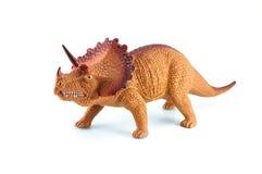 Het stuk speelgoed van Triceratopsdinosaurussen Stock Fotografie