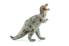 Het stuk speelgoed van tyrannosaurusdinosaurussen Royalty-vrije Stock Afbeelding
