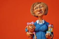 Het stuk speelgoed van zeer mooie kinderen voor jongens en meisjes royalty-vrije stock afbeelding
