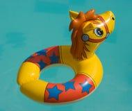 Het stuk speelgoed voor het zwemmen Stock Foto
