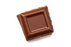 Het stuk van de chocolade Stock Foto's