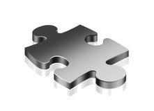 Het stuk van de puzzel vector illustratie