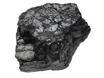 Het Stuk van de steenkool Stock Afbeelding