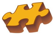 Het stuk van het raadsel vector illustratie