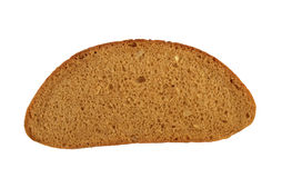 Het stukclose-up van het brood. Stock Afbeelding