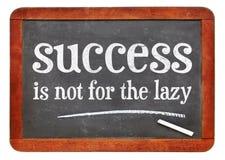 Het succes is niet voor Lui royalty-vrije stock afbeelding