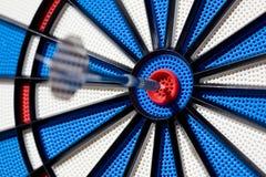 Het succes van Bullseye Stock Fotografie