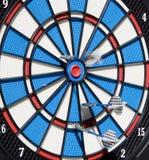 Het succes van Bullseye Stock Afbeelding