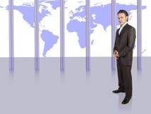 Het succes van de zakenman royalty-vrije stock foto