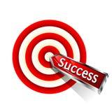 Het succes van het concept Stock Foto's