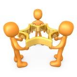 Het Succes van het team vector illustratie