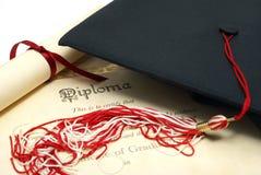 Het Succes van studenten stock foto