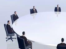 Het succesteam in conferentie. Royalty-vrije Stock Foto's