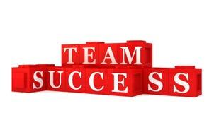 Het succesteken van het team Stock Foto's