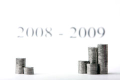 Het succesvolle investeren royalty-vrije stock afbeelding