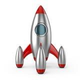 Het succesvolle opstarten van het raketruimteschip Stock Afbeelding