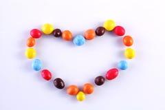 Het suikergoed in dalingenÂ Royalty-vrije Stock Foto's