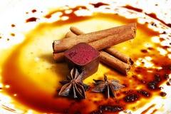 Het suikergoed van de chocolade Stock Fotografie