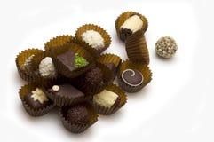 Het suikergoed van de chocolade Stock Afbeeldingen