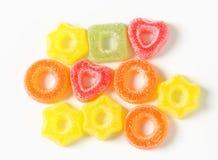 Het suikergoed van de fruitgelei royalty-vrije stock foto's
