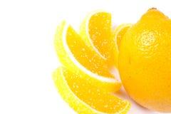 Het suikergoed van de gelei en verse citrusvrucht Stock Foto