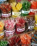 Het Suikergoed van de stok Stock Foto's
