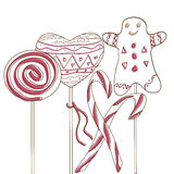 Het suikergoed van de vakantie Royalty-vrije Stock Afbeelding