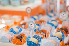 Het suikergoed van de verjaardagspartij Royalty-vrije Stock Fotografie