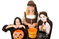 Het Suikergoed van Halloween tevreden Royalty-vrije Stock Fotografie