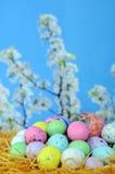 Het suikergoed van het ei Stock Foto's