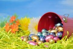 Het suikergoed van het ei voor de dag van Pasen Stock Fotografie