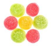 Het suikergoed van het fruit stock fotografie