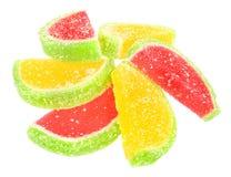 Het suikergoed van het fruit royalty-vrije stock foto