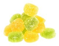 Het suikergoed van het fruit stock foto