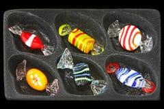 Het suikergoed van het kristal Stock Foto's
