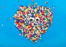 Het Suikergoed van het oog Stock Afbeelding