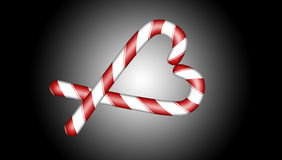 Het Suikergoed van Kerstmis Royalty-vrije Stock Afbeeldingen