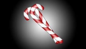 Het Suikergoed van Kerstmis stock illustratie