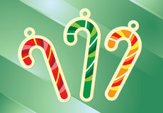 Het suikergoed van Kerstmis stock afbeelding