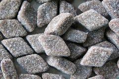 Het suikergoed van Salmiakmuntstukken Royalty-vrije Stock Fotografie