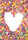 Het Suikergoed van valentijnskaarten Stock Foto